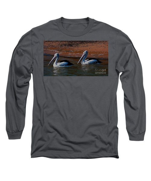 Australian Pelicans Long Sleeve T-Shirt