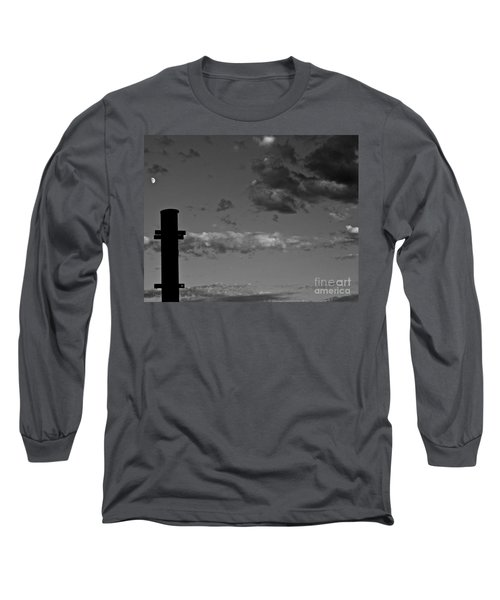 ...babel...to The Moon Long Sleeve T-Shirt