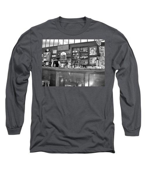 Long Sleeve T-Shirt featuring the photograph Bar In Old Havana by Lynn Bolt