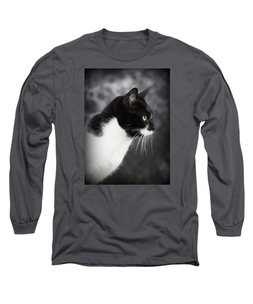 Beautiful Kitty Long Sleeve T-Shirt by Paul  Wilford