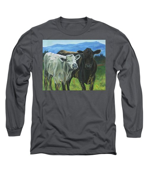 Best Friends Ivory And Ebony Long Sleeve T-Shirt
