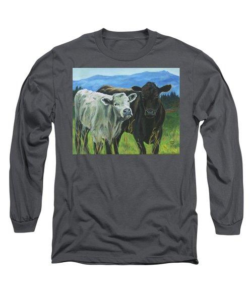 Best Friends Ivory And Ebony Long Sleeve T-Shirt
