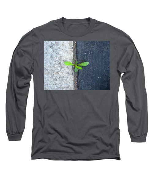 Long Sleeve T-Shirt featuring the photograph Grows Here by John King