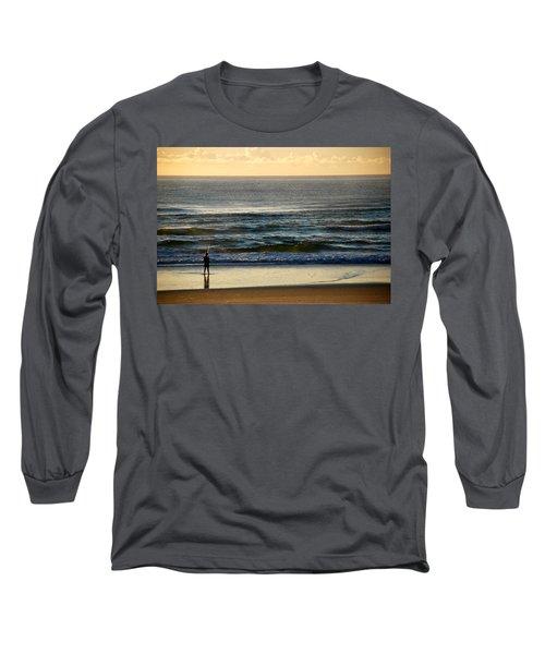 Long Sleeve T-Shirt featuring the photograph Big Ocean  by Eric Tressler