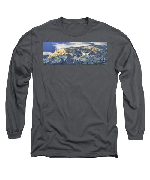 Big Rock Candy Mountains Long Sleeve T-Shirt by Donna Greene