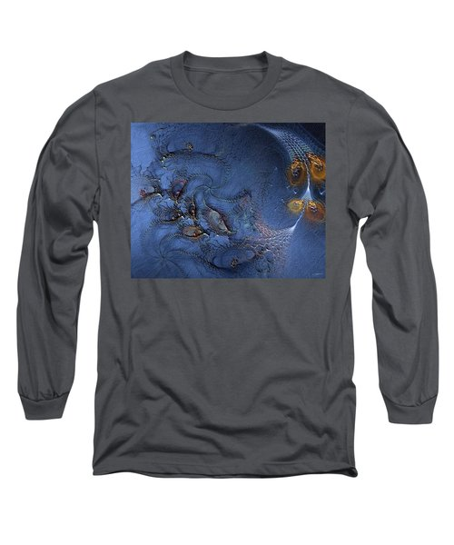 Long Sleeve T-Shirt featuring the digital art Birth Of The Cool by Casey Kotas