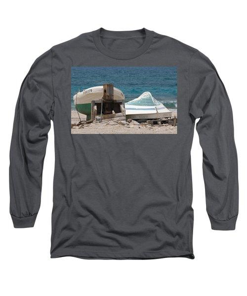 Blue Skiffs Spain Long Sleeve T-Shirt