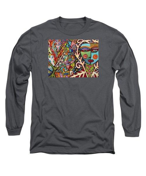 -bone Tree Of Life Skeleton Goddess Long Sleeve T-Shirt
