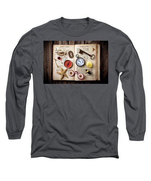Book Of Mystery Long Sleeve T-Shirt
