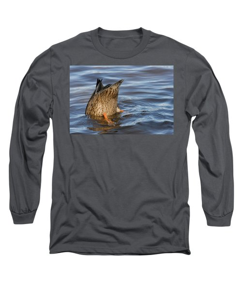 Bottom's Up Long Sleeve T-Shirt by Cindy Manero