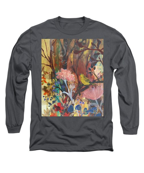 Breath Of Cooler Air Long Sleeve T-Shirt by Robin Maria Pedrero