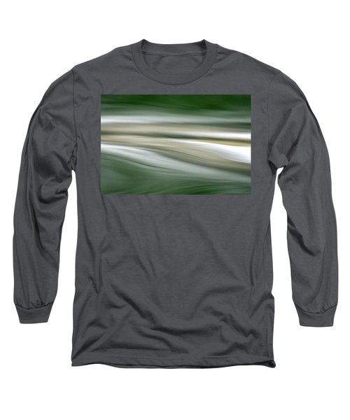 Breath On The Water Long Sleeve T-Shirt by Cathie Douglas