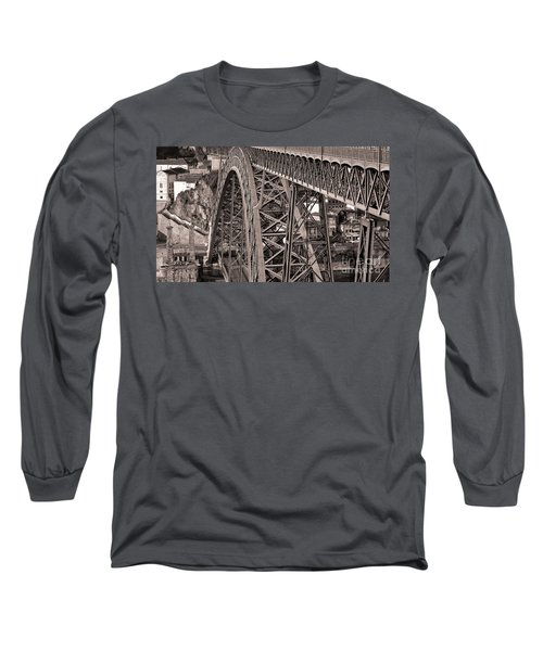 Bridge Construction Long Sleeve T-Shirt
