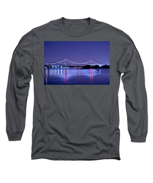 Tri-borough Bridge In Nyc Long Sleeve T-Shirt