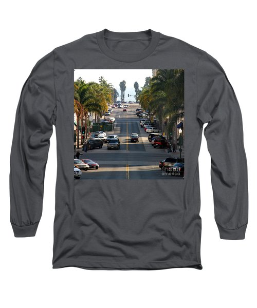 California Street Long Sleeve T-Shirt by Henrik Lehnerer