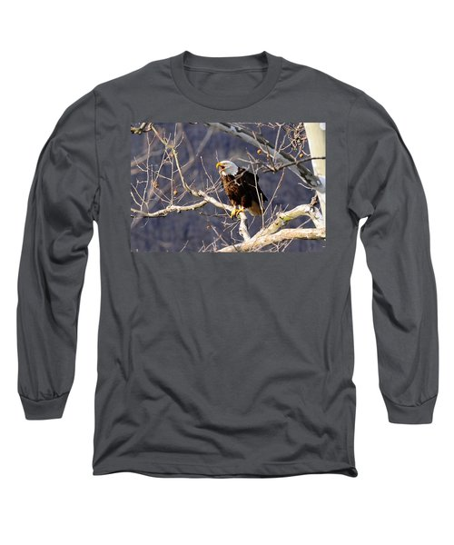 Long Sleeve T-Shirt featuring the photograph Calling For His Mate by Randall Branham