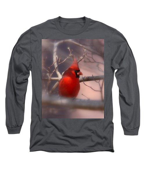Cardinal - Unafraid Long Sleeve T-Shirt by Travis Truelove