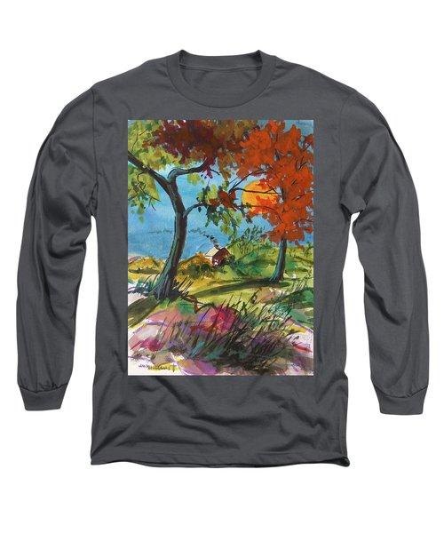 Catching Sundown Long Sleeve T-Shirt