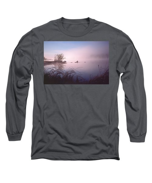 Chippewa River At Dawn Long Sleeve T-Shirt