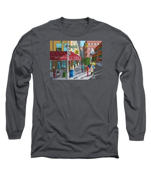 City Corner Long Sleeve T-Shirt
