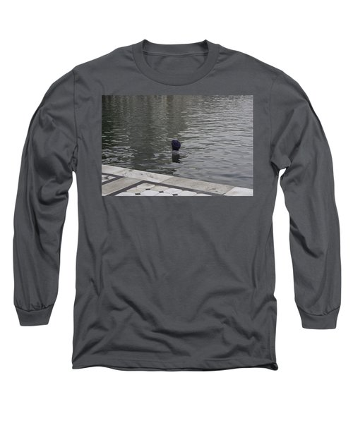 Long Sleeve T-Shirt featuring the photograph Cleaning The Sarovar In The Golden Temple by Ashish Agarwal
