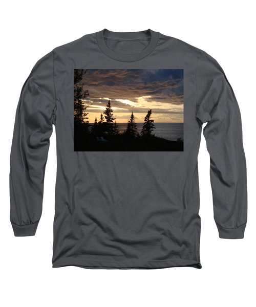 Long Sleeve T-Shirt featuring the photograph Clearing Sky by Bonfire Photography
