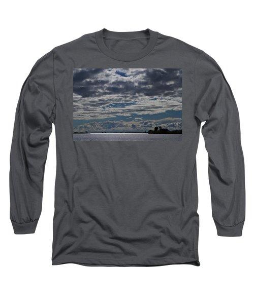 Clouds Chobe River  Long Sleeve T-Shirt