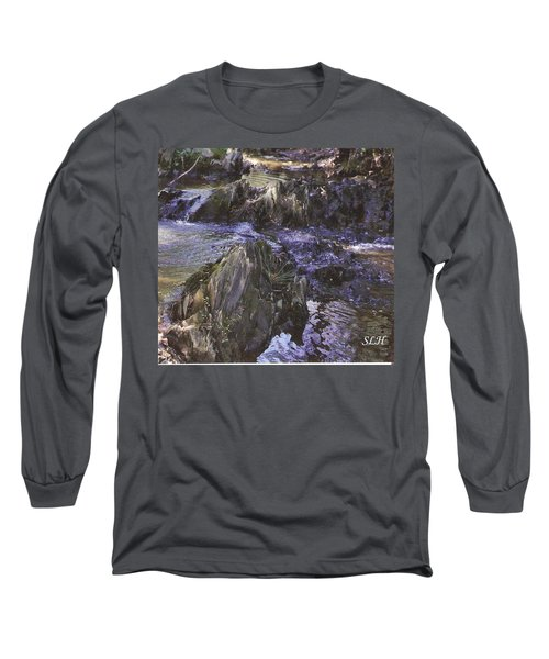 Colors In The Stream Long Sleeve T-Shirt