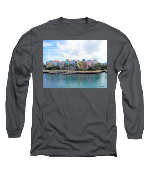 Long Sleeve T-Shirt featuring the photograph Condo Living by Cynthia Amaral