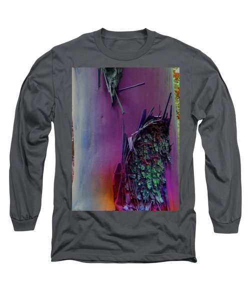 Long Sleeve T-Shirt featuring the digital art Connect by Richard Laeton