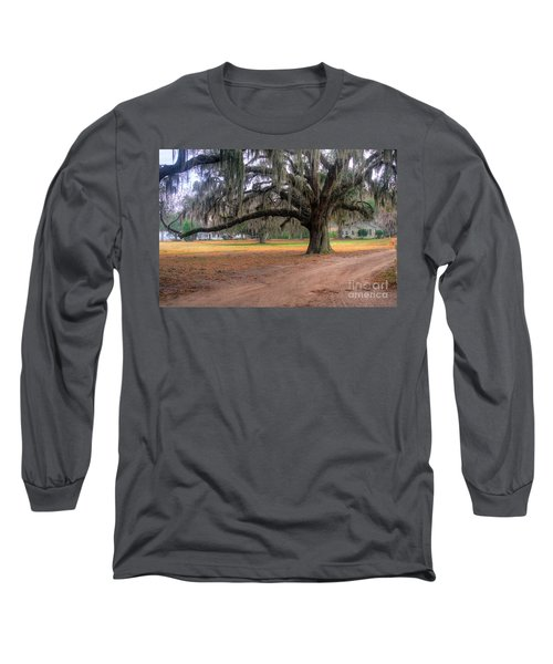 Coosaw Plantation Live Oak Long Sleeve T-Shirt