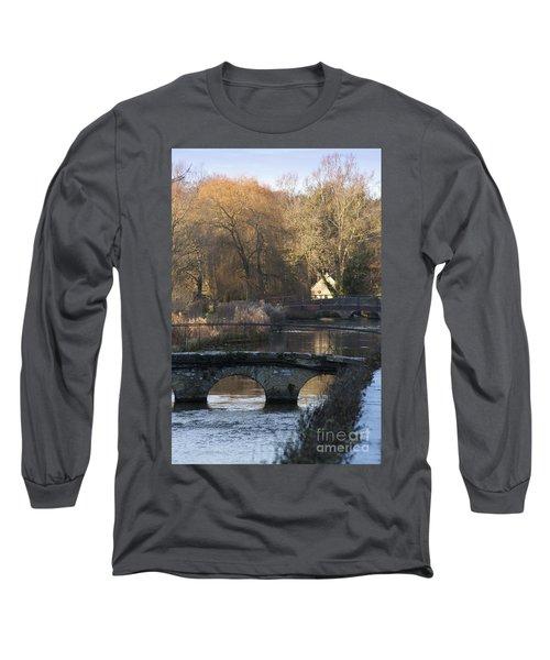 Cotswold River Scene Long Sleeve T-Shirt