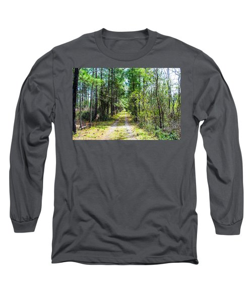 Long Sleeve T-Shirt featuring the photograph Country Path by Shannon Harrington