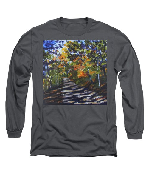 Country Road Long Sleeve T-Shirt by Jan Bennicoff