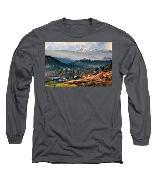 Countryside. Slovenia Long Sleeve T-Shirt
