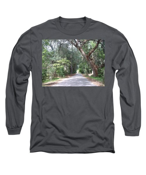 Covered By Nature Long Sleeve T-Shirt by Mark Robbins