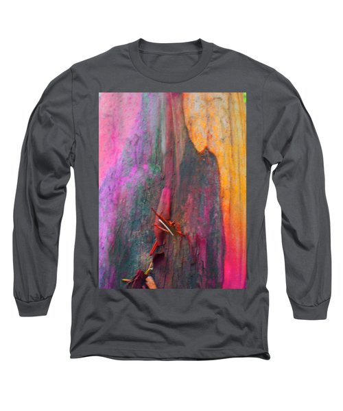 Long Sleeve T-Shirt featuring the digital art Dance For The Earth by Richard Laeton
