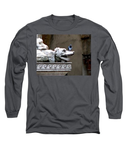 Despised Pigeon Long Sleeve T-Shirt by Eric Tressler