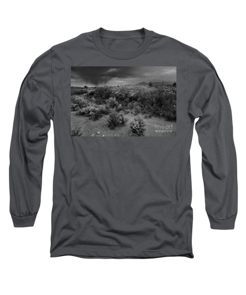 Distant Shower Long Sleeve T-Shirt