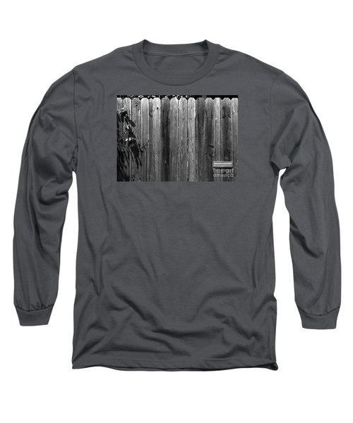 Dog Inside. Leave Mail In Yard. Long Sleeve T-Shirt by CML Brown