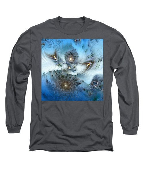 Long Sleeve T-Shirt featuring the digital art Dream Journey by Casey Kotas