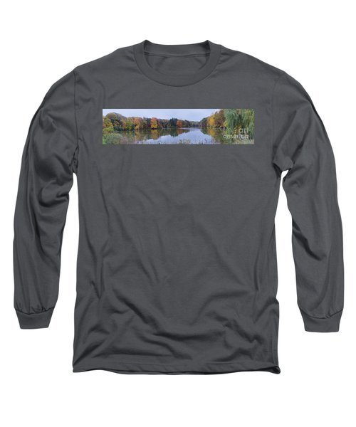 Long Sleeve T-Shirt featuring the photograph Durand Lake by William Norton