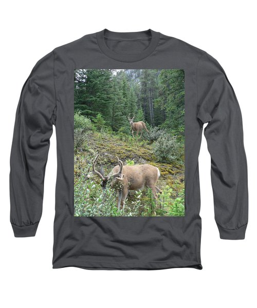 Elegant Elk Long Sleeve T-Shirt