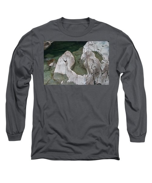 Etched Rock Water 5 Long Sleeve T-Shirt