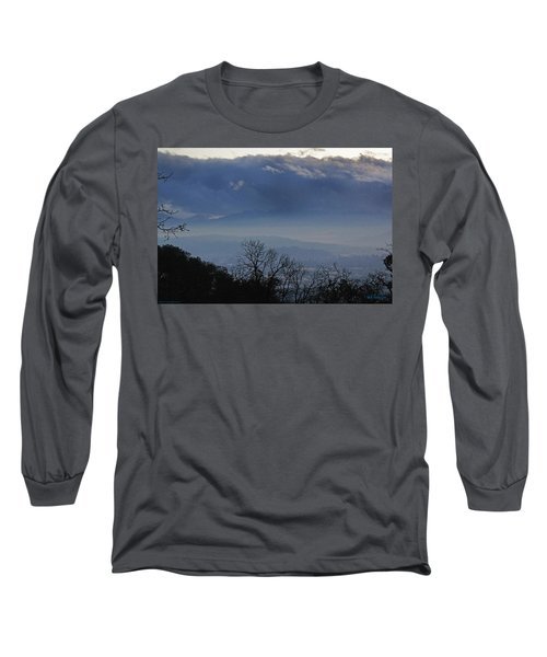 Evening At Grants Pass Long Sleeve T-Shirt by Mick Anderson