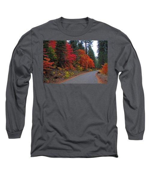 Long Sleeve T-Shirt featuring the photograph Fall's Splendor by Lynn Bauer