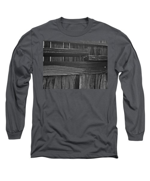 Fence To Nowhere Long Sleeve T-Shirt by Bill Owen