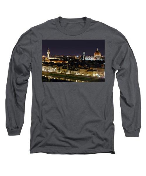 Firenze Skyline Long Sleeve T-Shirt