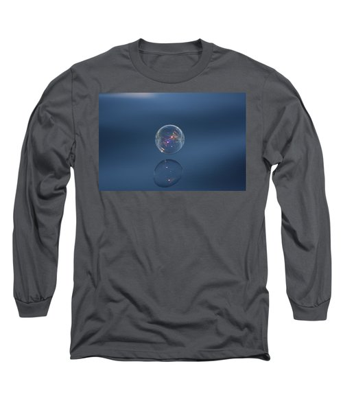 Long Sleeve T-Shirt featuring the photograph Floating On The Breeze by Cathie Douglas