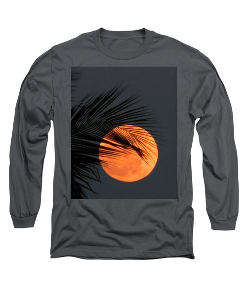 Florida Moonrise Long Sleeve T-Shirt